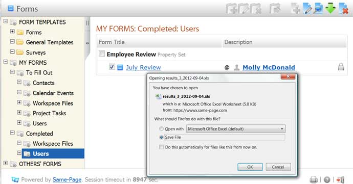 Online Forms Software | Business Form Software – Same-Page com