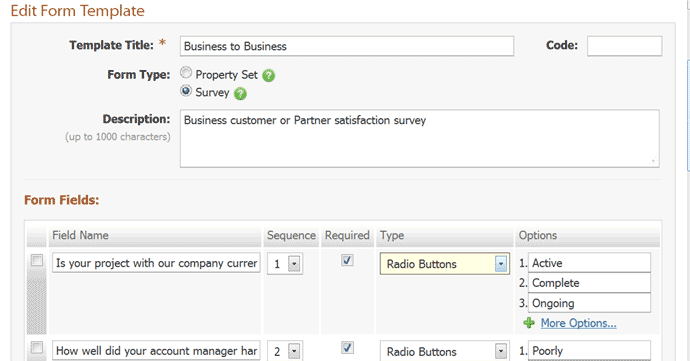 Online survey software for business same page creating and editing a survey is easy pronofoot35fo Choice Image